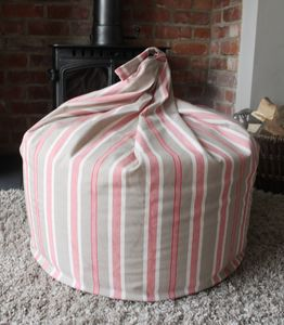 Stripe Bean Bag - cushions