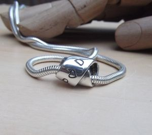 Personalised Silver Infinity Knot Necklace - necklaces