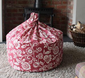 Floral Beanbag - floor cushions & beanbags