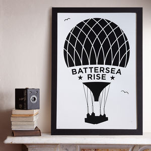 Battersea Rise A2 Screen Prints