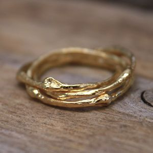 Russian Twig Ring - rings