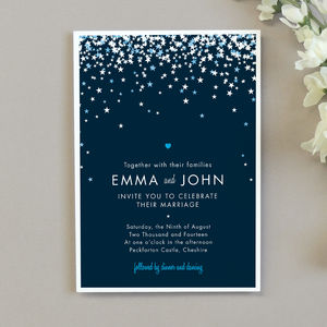 Bella Wedding Invitation - winter styling