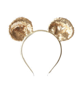 Sparkly Mouse Ear Headband