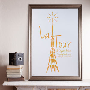 La Tour A2 Screen Prints - contemporary art