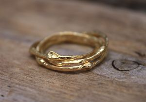 Russian Wedding Ring 18ct Gold