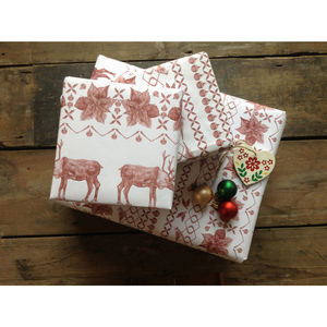 Christmas Jumper Recycled Wrapping Paper Pack