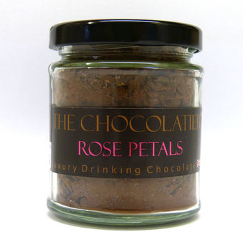 Rose Petal Luxury Drinking Chocolate