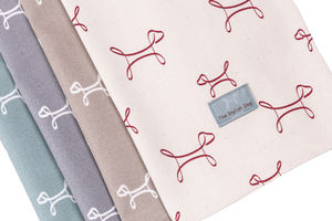 The Stylish Dog Tea Towels French Grey