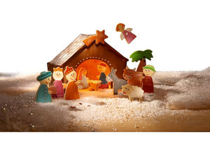 Choose From Christmas Cookie Or Nativity Cutters - toys & games