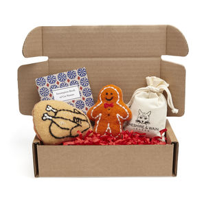 Festive Catnip Toy Gift Selection Box