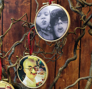 Photo Personalised Christmas Decoration - tree decorations