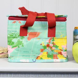 World Map Lunch Bag - lunch boxes & bags