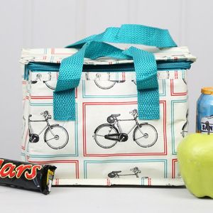 Vintage Bicycle Lunch Bag
