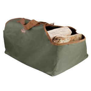 Canvas Wood And Log Carrier Bag