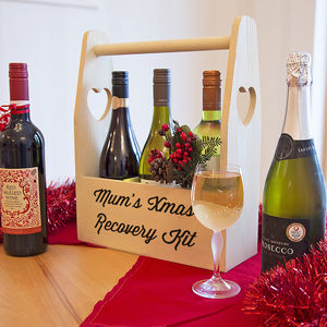 Personalised Wine Holder - storage & organisers