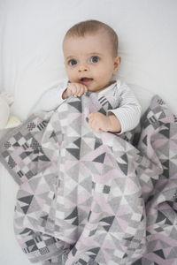 Merino Pram Blanket In Three Colourways - bedding & accessories