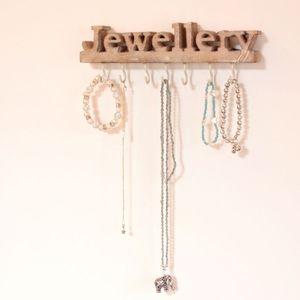 'Rustic' Wooden Jewellery Hooks