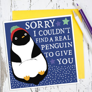 Penguin Card - cards & wrap