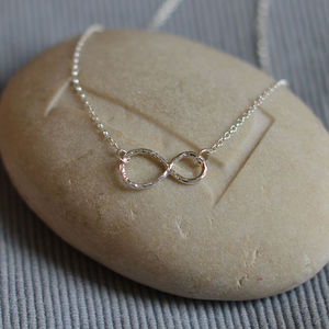 Sterling Silver Infinity Necklace - necklaces & pendants