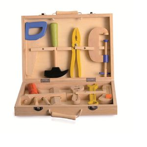 Wooden Tool Box Toy