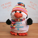 Personalised Soft Toy Penguin
