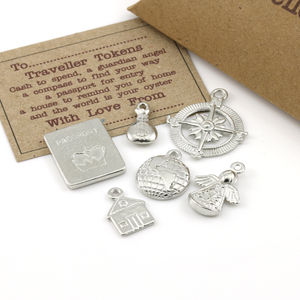 Tiny Travel Tokens Keepsake Gift - frequent traveller