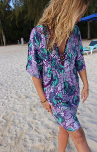 'African Queen' Kaftan Tunic Dress