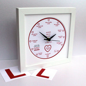 Personalised 'It's… O'clock' Hen Do Clock - room decorations