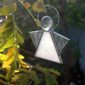 Angel Suncatcher Stained Glass Angel Decoration