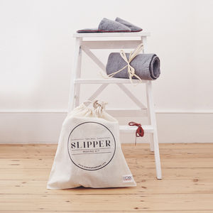 Slipper Making Kit - home