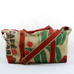 Jute Travel Bag