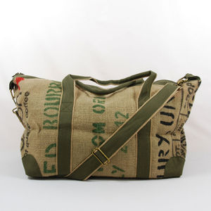 Jute Travel Bag