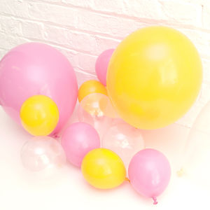 Pack Of 10 Mini Balloons