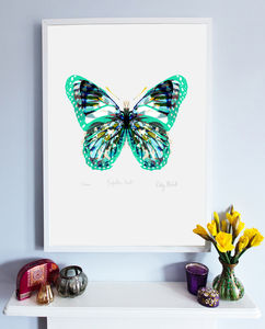Butterfly Print - graphic art prints
