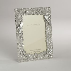 Bee Cast Pewter Photo Frame - home accessories