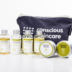 Indulgent Organic Mini Spa Set - skin care