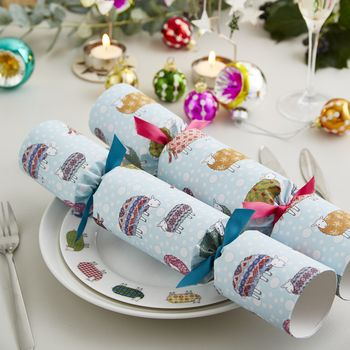 Sheep In The Snow Christmas Crackers