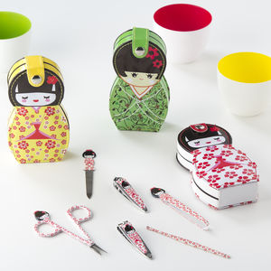 Geisha Doll Manicure Set - stocking fillers