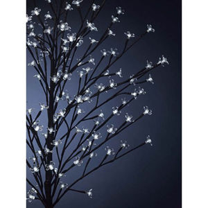 150cm Large White Blossom Tree With 120 LED Lights