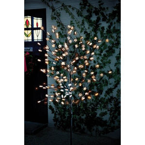 Solar Snowflake Tree With 120 LED Lights - lights & lanterns