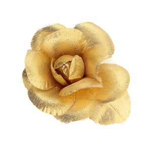 Vintage Gold Hair Rose