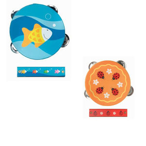 Ladybug Or Fish Percussion Set - toys & games