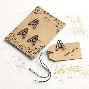 Initial Paper Clips - home sale