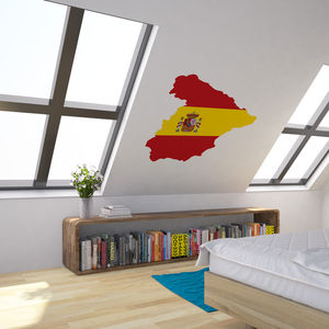 Spain National Flag Wall Art