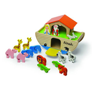 Wooden Noah's Ark - toys & games