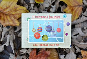 Make Your Own Christmas Baubles Kit - decoration making kits