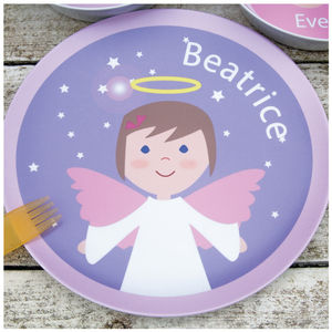 Personalised Angel Plate