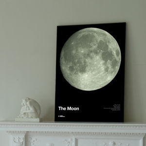 Glow In The Dark Moon Print - shop by price