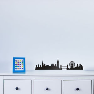 London City Skyline Wall Art Decal - shop by price