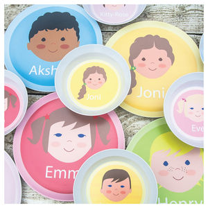 Personalised Face Plate - baby care